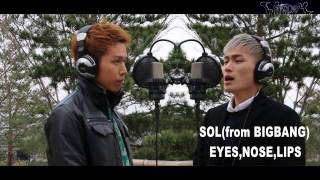 Cover images EYES,NOSE,LIPS/SOL from BIGBANG (WITHDOM COVER)