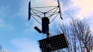 """Vertikale Kleinwindkraftanlagen (VAWT) - """"STRIBOG"""" 0,1(3)"""
