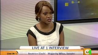 Live at One Interview with  Beatrice Alachi -Majority Whip,Senate