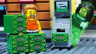 Lego City ATM BANK Robbery - The Ghost