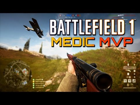 Battlefield 1: MEDIC MVP - RSC on Empire's Edge (PS4 PRO Gameplay)