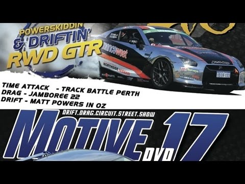 Motive DVD 17 - Full Length DVD Free - Powerskidding RWD R35, Widebody Evo, Time Attack & More!
