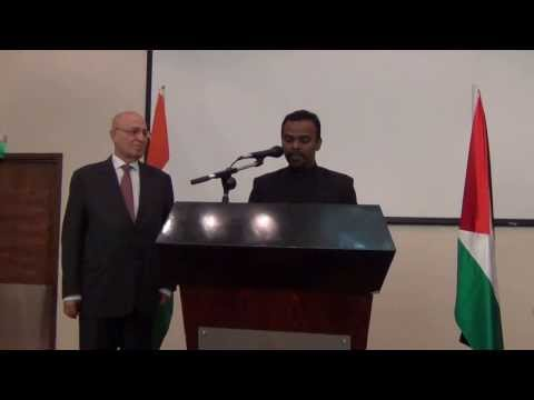 Republic Day of India celebrations at Palestine:27th January 2014