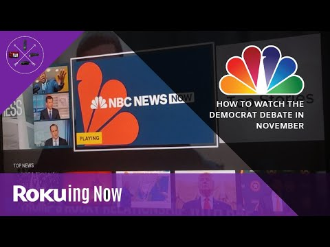 How To Watch: MSNBC/WP Democratic Debate For Free