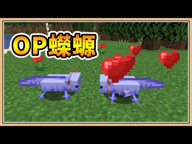 【Minecraft】但是..「OP蠑螈」✨【生存挑戰】送子鳥的禮物