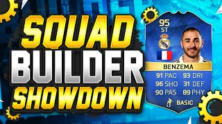 One of Tobiias's most viewed videos: FIFA 16 - SQUAD BUILDER SHOWDOWN!!! 95 RATED BENZEMA!!! Benzema Squad Builder Duel