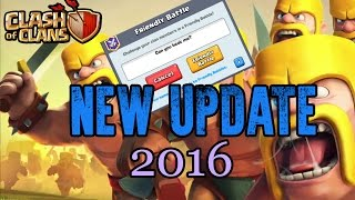 Clash of Clans | Friendly Challenge - New Update 2016 - Attack Friends, Friendly Battle in CoC