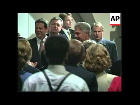 USA: JANET RENO TESTIFIES AT SENATE JUDICIARY COMMITTEE HEARING