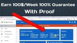 How to make 100$/ Week (100% Guarantee) From Link Shorter Website.