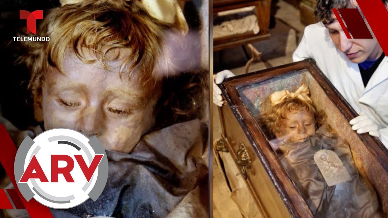 Rosalía Lombardo: la momia más hermosa del mundo según análisis | Al Rojo Vivo | Telemundo