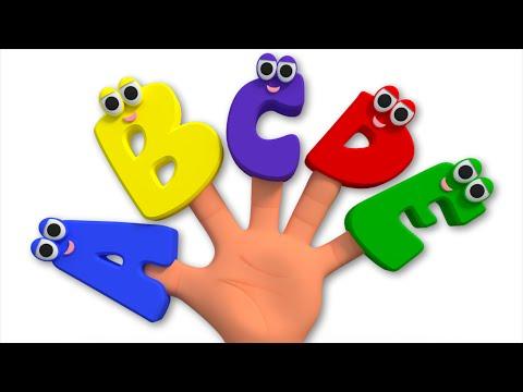 alphabets finger family | abc finger family | finger family abcd