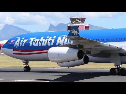 """Air Tahiti Nui """"Nuku Hiva"""" (F-OLOV) - TN77 - 09/09/17"""