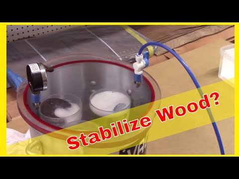 Stabilizing Wood for Wood Turners - YouTube