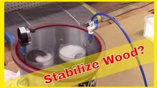 Stabilizing Wood for Wood Turners