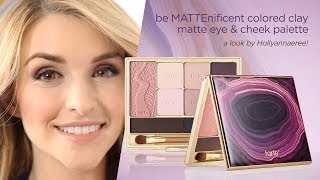 be MATTEnificent colored clay matte eye & cheek palette Thumbnail