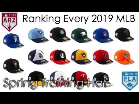788a963cf82 Ranking Every MLB Spring Training Hat (2019 Edition) - YouTube
