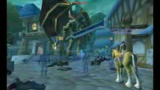 World Of Warcraft Kazzak In Stormwind