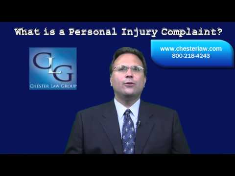 Ohio Personal Injury Lawyer What is a Personal Injury Complaint