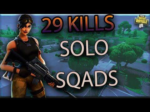 Fulmer - Solo vs Squads (Fortnite BR)