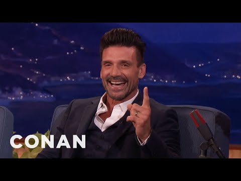"Frank Grillo's New Movie Has More FBombs Than ""Scarface""   CONAN on TBS"