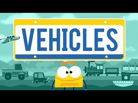 """""""Vehicles"""" - StoryBots Super Songs Episode 6"""