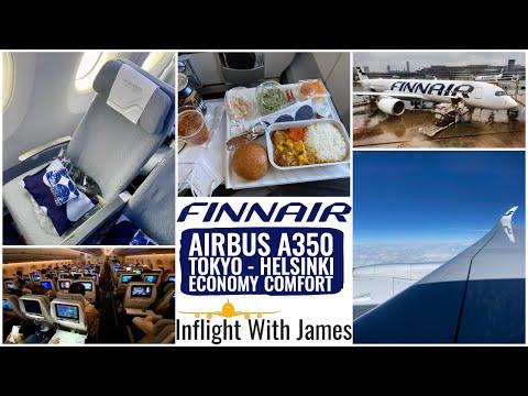 Finnair Airbus A350 | Tokyo - Helsinki | Economy Comfort