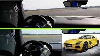TOP GEAR Exclusive #StigCam: Mercedes SLS AMG Black Series vs Electric, s20 Ep 4 BBC AMERICA