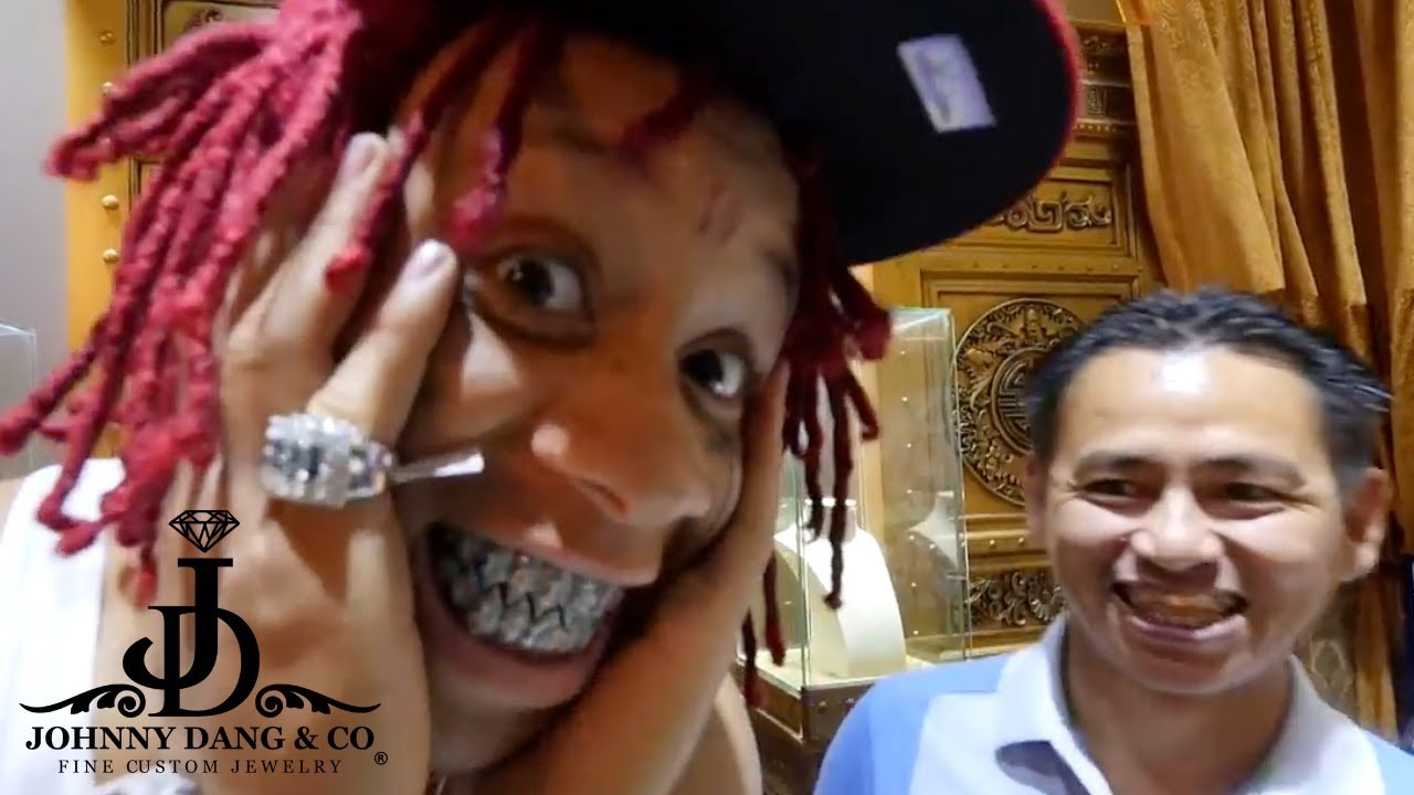 Trippie Redd IMMORTALIZED The Shark Grill With Johnny Dang YouTube