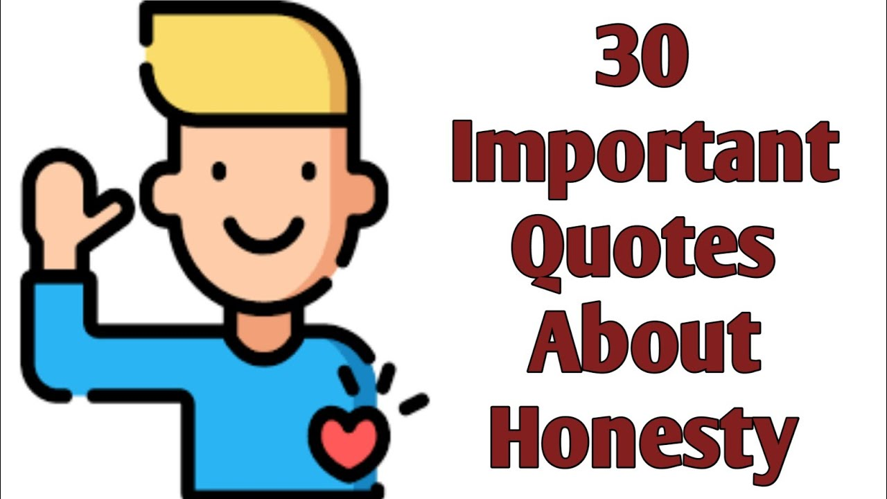 30 Important Quotes About Honesty