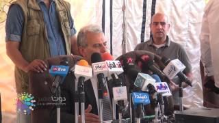 فيديو  جابر نصار يفتتح حمام السباحة الأوليمبي الجديد بجامعة القاهرة