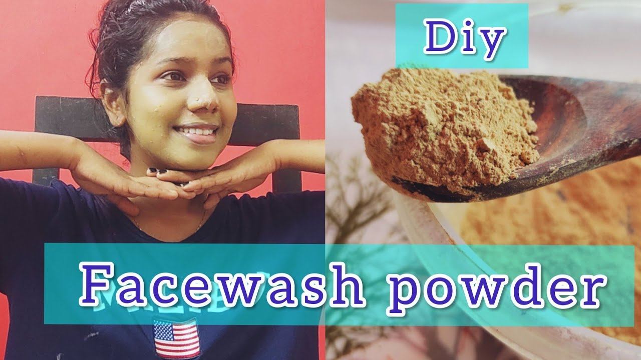 DIY Facewash powder at home| Face cleanser|For All skin types|Diy Facepack and Facewash #Diy