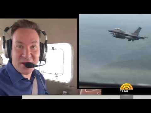 See What Happens When A Plane Violates Presidential Airspace
