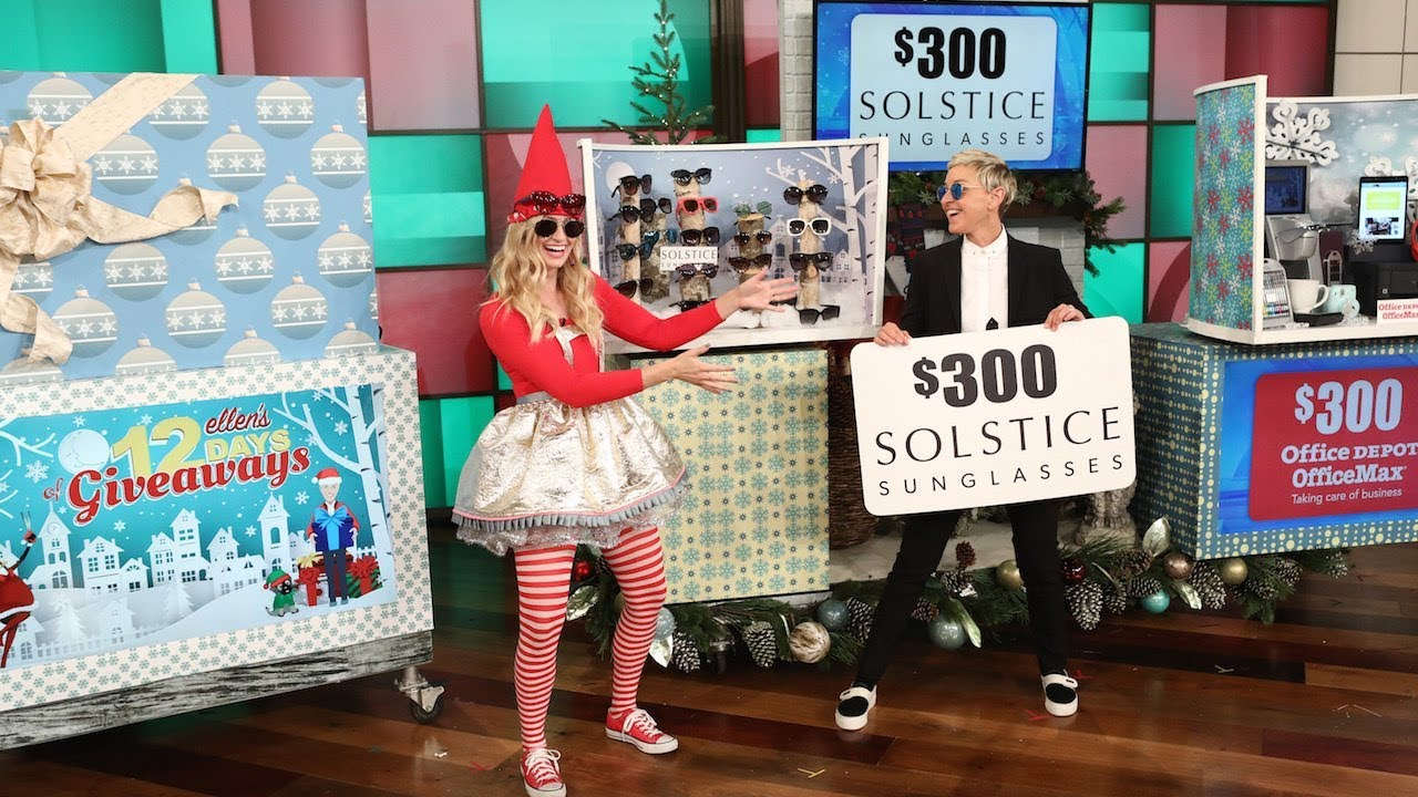 Best ellen 12 days of giveaways tickets