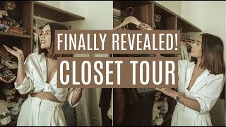 FINALLY REVEALED: MY NEW CLOSET TOUR! | Komal Pandey