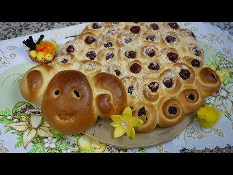 Słodki Baranek Wielkanocny z Ciasta Drożdżowego