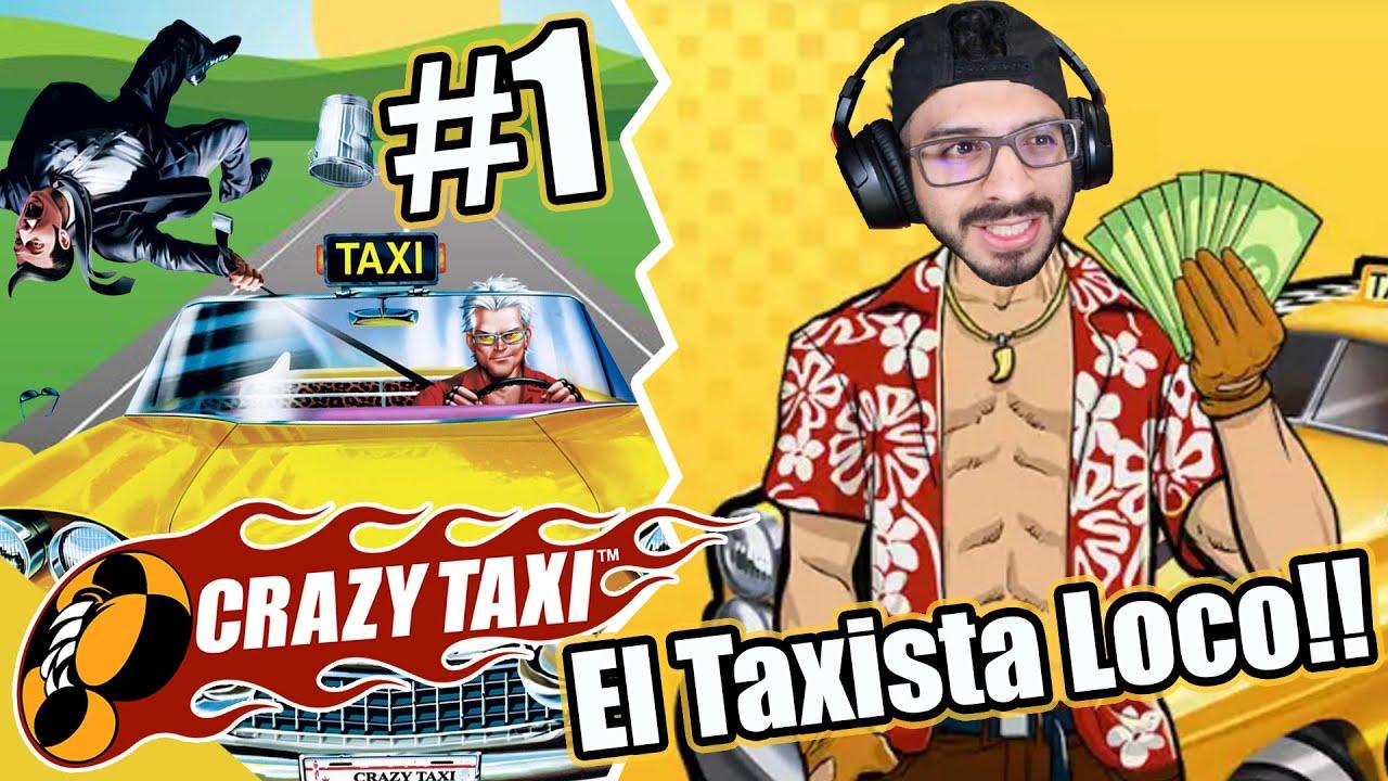 EL TAXISTA LOCO | 24 HORAS SIENDO TAXISTA EN CRAZY TAXI | Juegos Luky