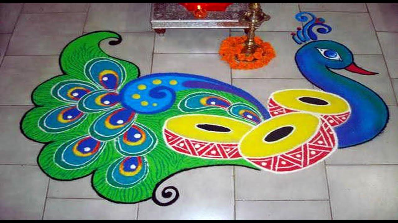 Image result for Diwali festival rangoli ideas