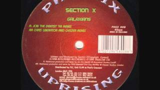 Phoenix Uprising 8 , Section X, Galaxians, Chris Liberator And Geezer Remix