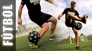 Mirror Around the world (ATW) - Trucos, videos y jugadas de fútbol calle & Street Soccer