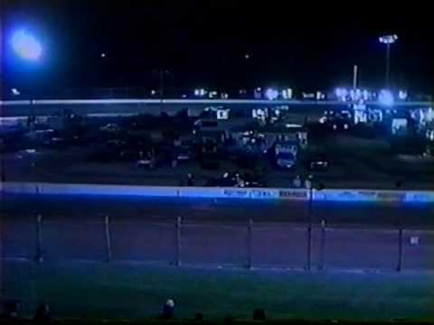 Dewayne Bickerstaff racing at Green Valley Speedway 8 / 7 / 2000