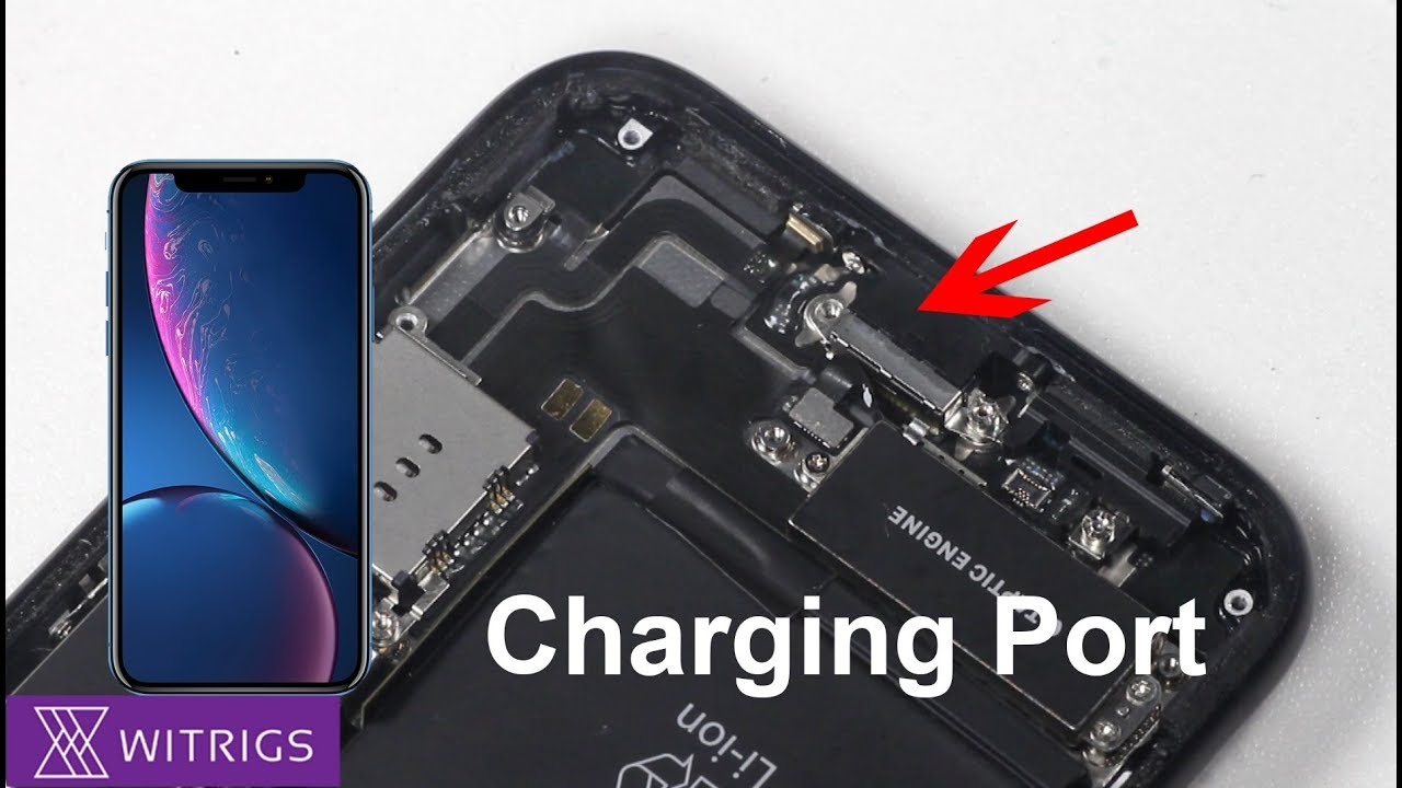 cheap for discount 46766 d427d iPhone XR Charging Port Replacement