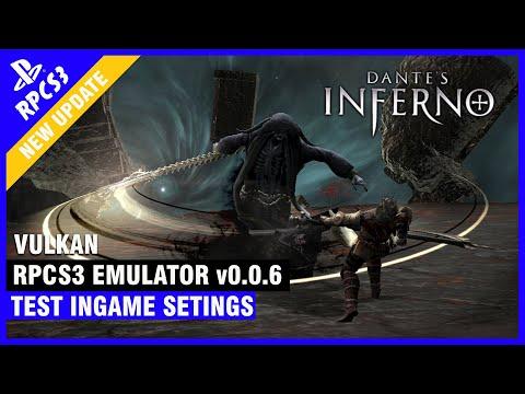 Dante's Inferno RPCS3 0 0 6 [Emulator Ps3] 1080p Vulkan