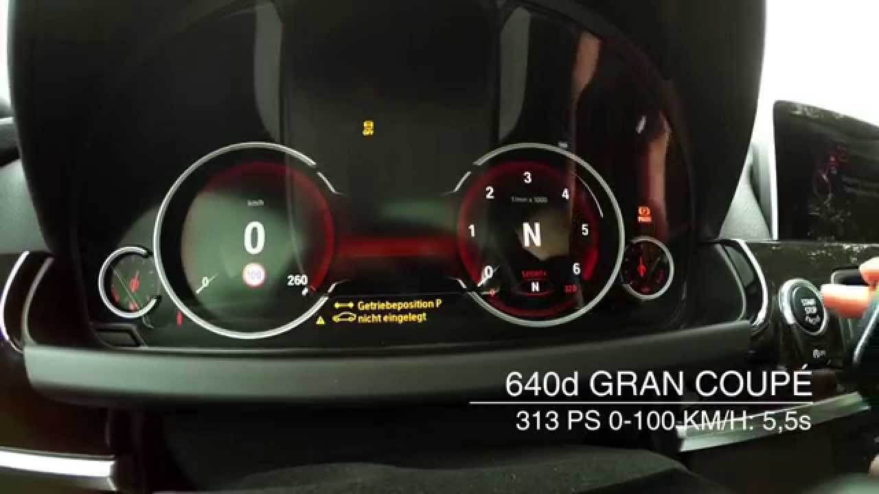 2015 bmw 640d gran coup 0 100km h and 100 200 km h. Black Bedroom Furniture Sets. Home Design Ideas