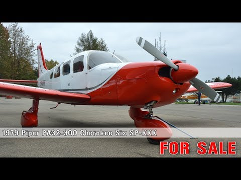 PIPER PA32-300 Cherokee SIX SP-KKK FOR SALE - YouTube