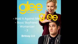 Glee - Britney 2.0 songs compilation (Part 1) [HD]