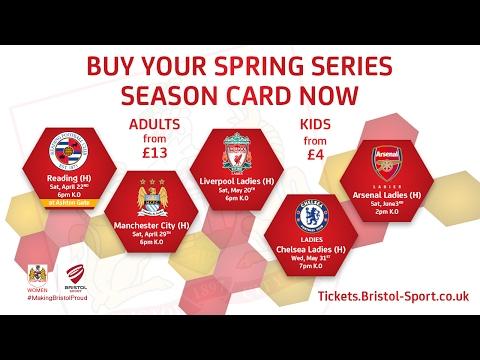 Become A Vixen: Bristol City Women Season Cards On Sale Now