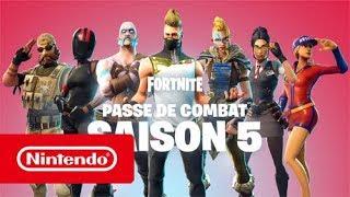 Fortnite - Season 5 Combat Pass (Nintendo Switch)