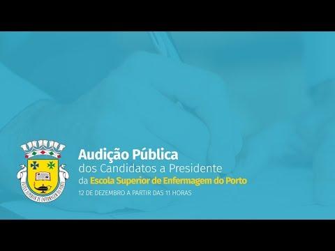 Audição pública dos candidatos a Presidente da ESEP (2017)