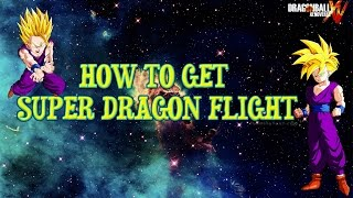 Dragon Ball Xenoverse: How to Unlock super dragon flight (Parallel Quest 19)