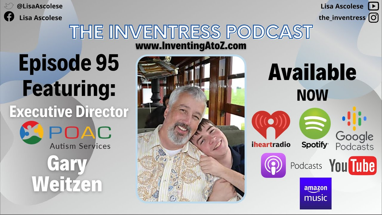 Episode 95 - Gary Weitzen (POAC Autism Services) Available Now!!!